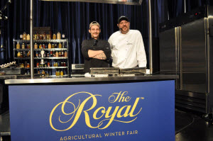 Winners of Semi Final Round at the 2014 Royal Agricultural Winter Fair